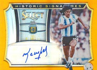 2015-16 PANINI SELECT Orange Auto Mario Kempes 【149枚限定】Rookie Star RS67様
