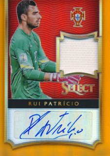 2015-16 PANINI SELECT Orange Auto Rui Patricio【125枚限定】 Rookie Star RS67様