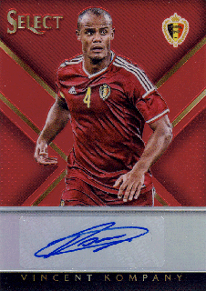 2015-16 PANINI SELECT Vincent Kompany【49枚限定】 Rookie Star RS67様
