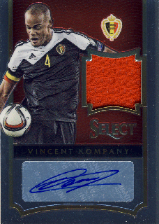 2015-16 PANINI SELECT Vincent Kompany 【185枚限定】Rookie Star RS67様