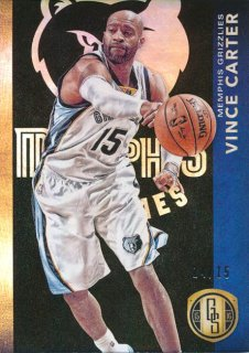2015-16 PANINI GOLD STANDARD Black Parallel Vince Carter【15枚限定】 Rookie Star RS2様