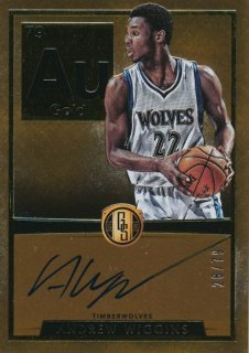 2015-16 PANINI GOLD STANDARD Auto Andrew Wiggins 【79枚限定】Rookie Star RS28様