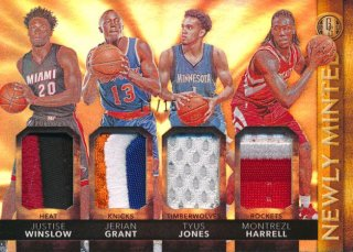 2015-16 PANINI GOLD STANDARD Patch Winslow Grant Jones Harrell【15枚限定】 Rookie Star RS28様