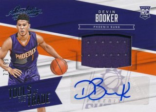 2015-16 PANINI ABSOLUTE Jersey Auto Devin Booker 【99枚限定】Rookie Star RS31様