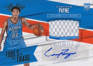 2015-16 PANINI ABSOLUTE Patch Auto Cameron Payne 【25枚限定】Rookie Star RS31様