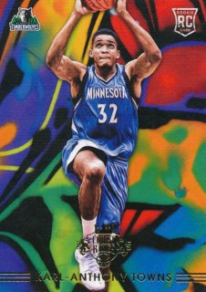 2015-16 PANINI COURT KINGS RC Variation Karl-Anthony Towns【299枚限定】 Rookie Star RS31様