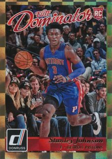 2015-16 PANINI DONRUSS Gold Parallel Stanley Johnson 【10枚限定】Rookie Star RS54様