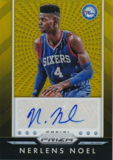 2015-16 PANINI PRIZM Gold Auto Nerlens Noel 【10枚限定】Rookie Star RS54様