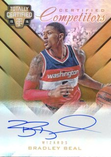 2015-16 PANINI TOTALLY CERTIFIED Gold Auto Bradley Beal James【10枚限定】 Rookie Star RS63様