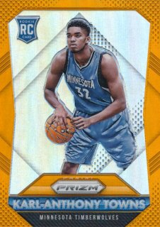 2015-16 PANINI PRIZM RC Orange Karl-Anthony Towns【 65枚限定】Rookie Star RS16様