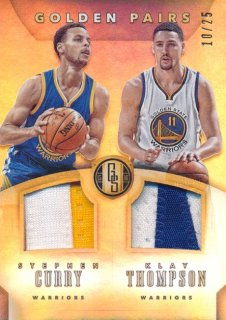 2015-16 PANINI GOLD STANDARD Patch Stephen Curry Thompson 【25枚限定】Rookie Star RS28様