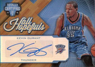 PANINI 15-16 TOTALLY CERTIFIED Autograph Card K.Durant 【10/10】 神田店 I32様