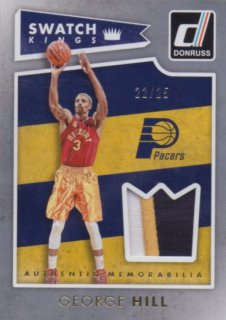 2015-16 PANINI DONRUSS SWATCH KINGS PRIME PARALLEL George Hill 【25枚限定】 / MINT池袋店 ジョーカー様