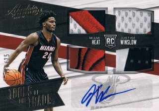 2015-16 PANINI ABSOLUTE BK Tools of the Trade Auto Prime Parallel J.Winslow 【25枚限定】 ミント渋谷店 きたさん様