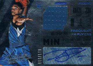 2015-16 PANINI ABSOLUTE BK Frequent Flyer Jersey Autographs Karl-Anthony Towns 【149枚限定】 ミント渋谷店 きたさん様