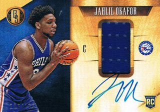 2015-16 PANINI GOLD STANDARD Rookie Jersey Autographs Jahlil Okafor 【199枚限定】 ミント渋谷店 きたさん様