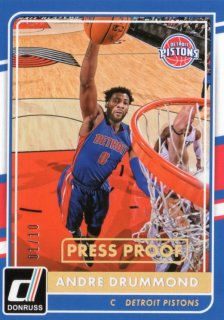 15-16 Panini Donruss Parallel Andre Drummond【10枚限定】 MINT福岡店 ダンク王様
