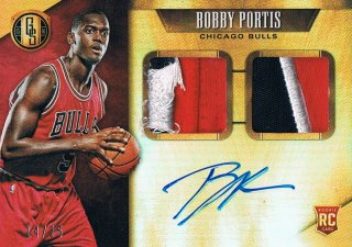 2015-16 PANINI GOLD STANDARD Rookie Jersey Autographs Double Prime Bobby Portis 【25枚限定】 ミント渋谷店 きたさん様