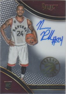 15-16 Panini Select Rookies Signatures Norman Powell【199枚限定】 ミント横浜店 パスタ様