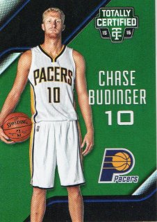 2015-16 PANINI TOTALLY CERTIFIED Mirror Green CHASE BUDINGER 【5枚限定】ホビーゾーン広島店 ラミレス様