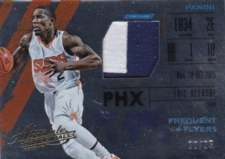 15/16 PANINI ABSOLUTE FREQUENT FLYER MATERIALS PRIME Eric Bledsoe【25枚限定】/MATCHUP  K.H 様