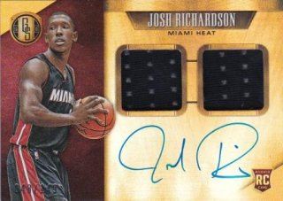 15/16 PANINI GOLD STANDARD ROOKIE JERSEY AUTOGRAPHS DOUBLE Josh Richardson 【149枚限定】/MATCHUP  K.H 様