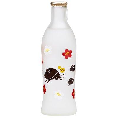 干支ボトル 純米吟醸 めでたの戌 240ml(クリアケース入り)