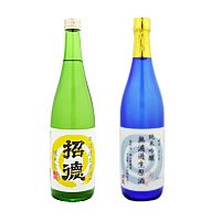 純米吟醸 無濾過生原酒 特別栽培米 と 無濾過生原酒 純米70