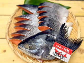 【贈答特集】築地の目利きシリーズ 「天然鮭プレミアム」