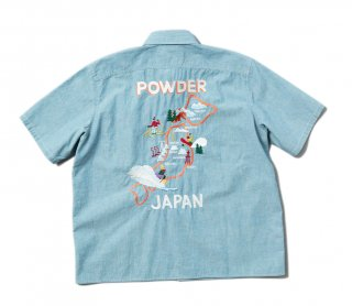 <img class='new_mark_img1' src='https://img.shop-pro.jp/img/new/icons7.gif' style='border:none;display:inline;margin:0px;padding:0px;width:auto;' />POWDER JAPAN SHIRTS