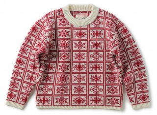 <img class='new_mark_img1' src='https://img.shop-pro.jp/img/new/icons1.gif' style='border:none;display:inline;margin:0px;padding:0px;width:auto;' />SNOW CRYSTALS SWEATER