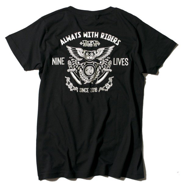 NINE LIVES T-SHIRT