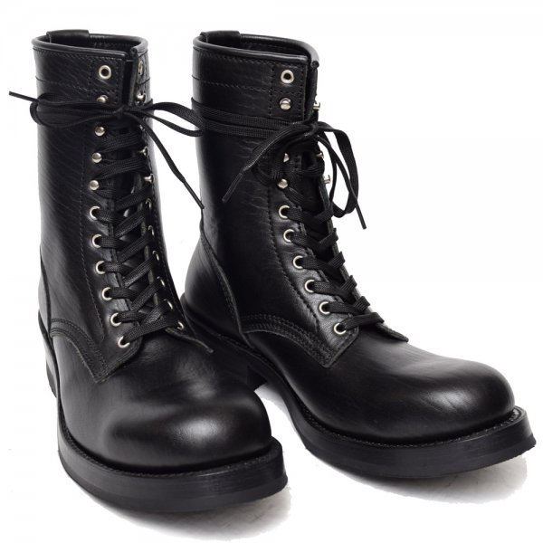 HORSEHIDE LACE UP BOOTS