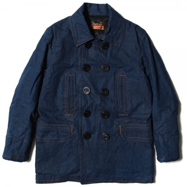 10 BUTTON DENIM COAT