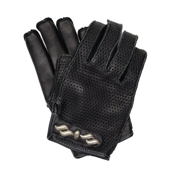 PUNCHING LEATHER GLOVE -STUDS-