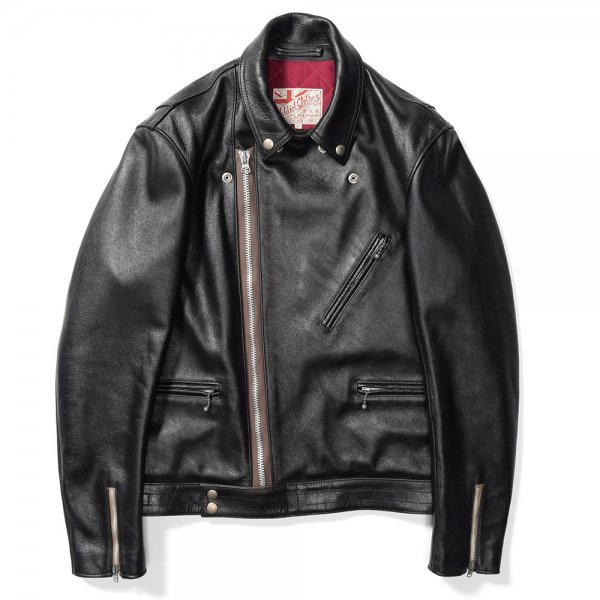 KIP LEATHER BRITISH ASYMMETRY JACKET