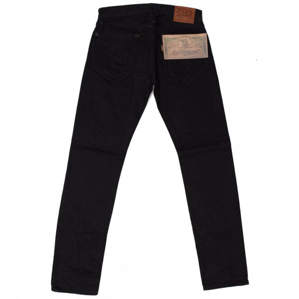 NARROW STRAIGHT JEANS -color denim-