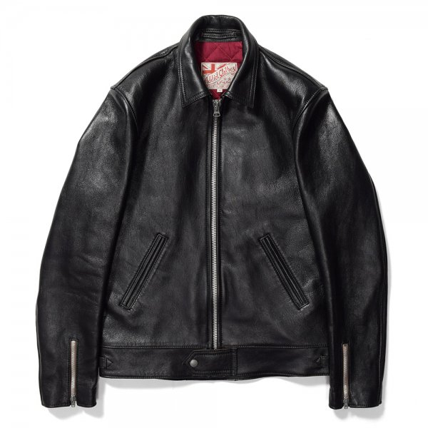 SHEEPSKIN CENTER ZIP JACKET