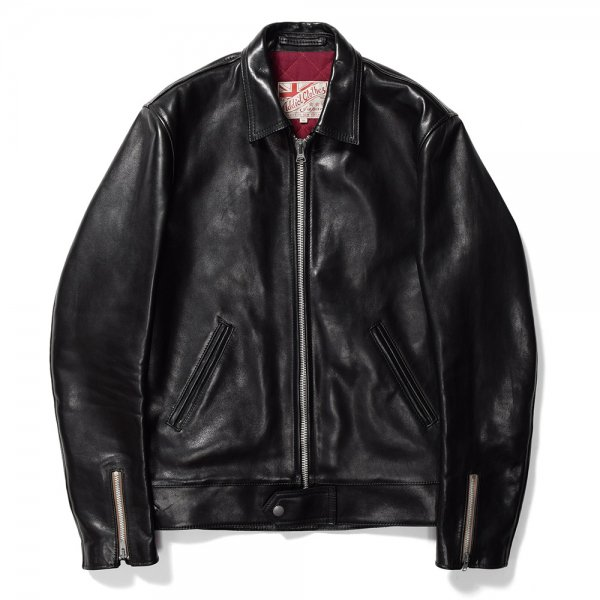 <img class='new_mark_img1' src='https://img.shop-pro.jp/img/new/icons58.gif' style='border:none;display:inline;margin:0px;padding:0px;width:auto;' />HORSEHIDE CENTER ZIP JACKET