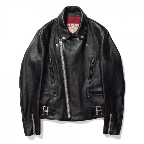 SHEEPSKIN DOUBLE RIDERS JACKET