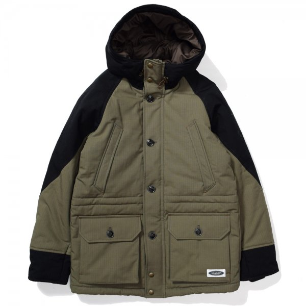 HOODED PADDING JACKET