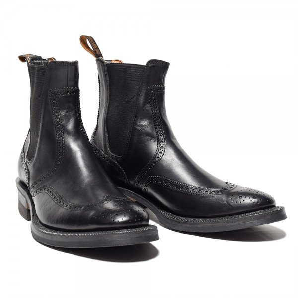 BROGUE SIDE GORE BOOTS