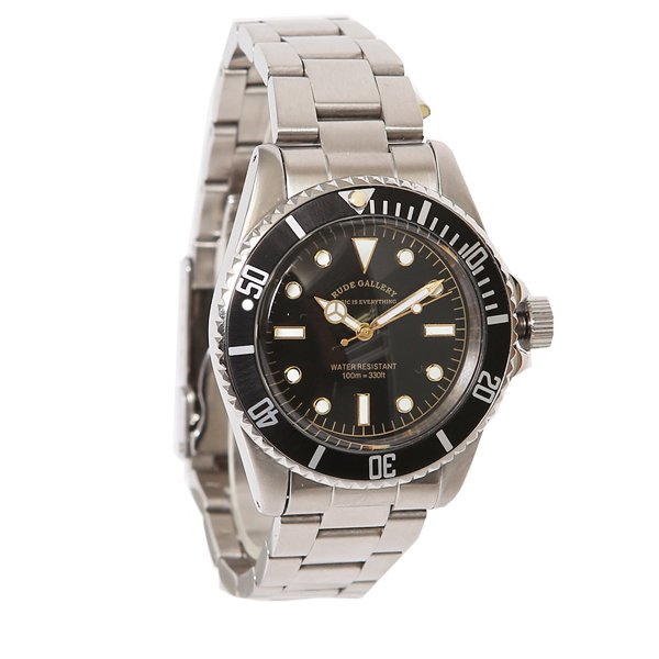 GOOD OLD DIVER WATCH LUXES - STAINLESS STEEL