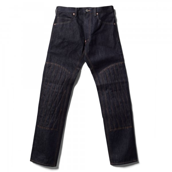 PADDED DENIM PANTS