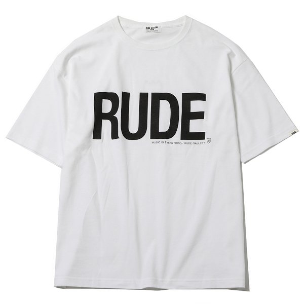 <img class='new_mark_img1' src='https://img.shop-pro.jp/img/new/icons31.gif' style='border:none;display:inline;margin:0px;padding:0px;width:auto;' />RUDE BIG SILHOUETTE TEE