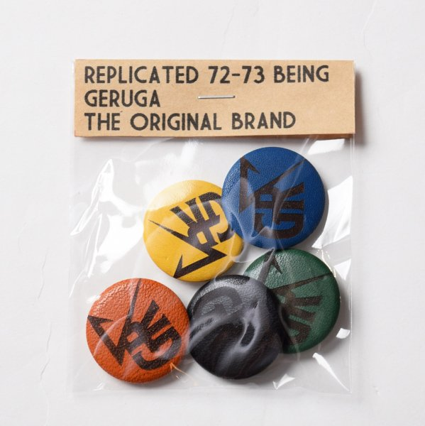 LEATHER CAN BADGE