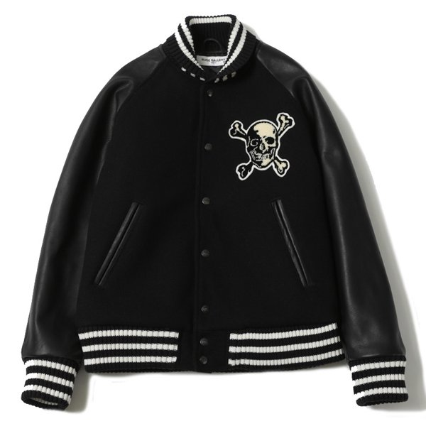 【20AWご予約商品】SKULL&ARCH LEATHER STADIUM JACKET