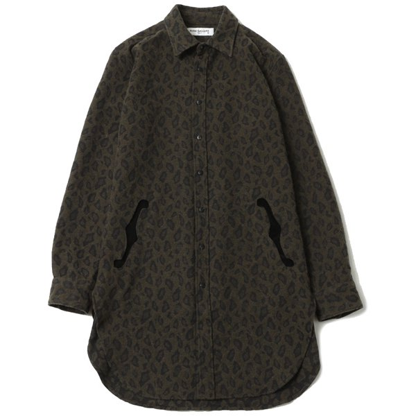 【20AWご予約商品】F HOLE LONG SHIRT