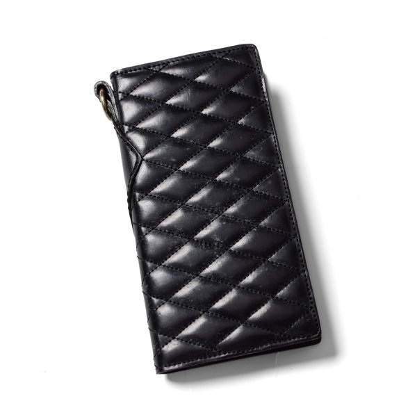 OUTSIDERS DIA QUILTED LEATHER WALLET