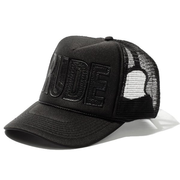 LEATHER RUDE MESH CAP